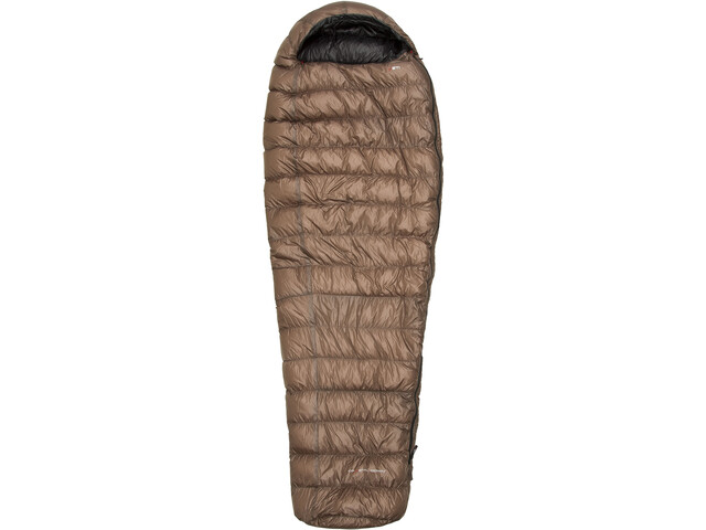 Yeti Passion Three Sleeping Bag M brown/black